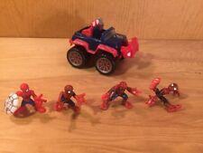 SPIDER-MAN Marvel Super Hero Squad Cruisers Hasbro 2007 - Repulsor Rammer JEEP