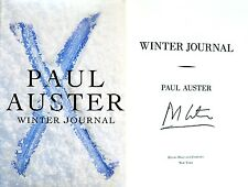 Paul Auster~SIGNED~Winter Journal~1st/1st HC + Photos!!