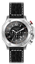 LUXURY CHRONOGRAPH Cavadini Watch Extravagant Black Face New Collection