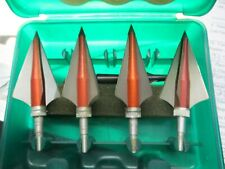 4 blade broadheads 5 In Case