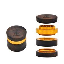 Rosewood Handmade Tobacco Herb Grinder 60MM 4 Layers Metal Herbal Grinder Smoke