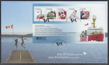 CANADA #2498 CANADIAN PRIDE SOUVENIR SHEET FIRST DAY COVER
