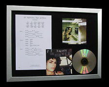 PJ HARVEY The Letter GALLERY QUALITY MUSIC CD FRAMED DISPLAY+EXPRESS GLOBAL SHIP