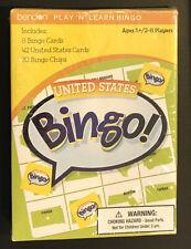 New listing United States Bingo Play 'N' Learn Card Game New Sealed