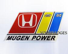 Nueva hoja de aluminio Honda Mugen Power placa de coche placa Accord Cívico R