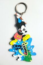 1990s Disney Classic Mickey Mouse Blaggard Castle Keychain – Applause