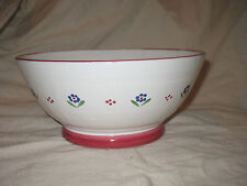 Vintage Cherbourg Shafford Flowered Fruit Bowl Made in Italy Simply Stunning!