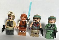 LEGO original PARTS only STAR WARS - 4 REBEL JEDI TROOPERS - REBEL ARMY