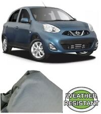 Car Cover Suits Nissan Micra Hatchback up to 4.06m Weathertec Ultra Non Scratch
