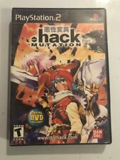 .hack//MUTATION (Sony PlayStation 2, 2003)Boxed Fast Free Ship