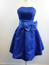 Maner Cocktail Prom Dress - Blue - Small - Box62 07 H