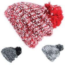 Chapeaux rouges en polyester pour femme