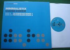 "Minimalistix Close Cover Filterheadz Remixes DATA32P2 Promo 12"" Single"