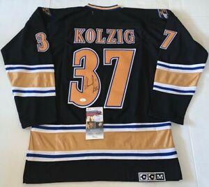 Olaf Kolzig signed Washington Capitals jersey W/ Olie The Goalie Inscription JSA