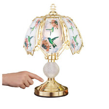 Hummingbird Touch Lamp With Gold-tone Base, by Collections Etc
