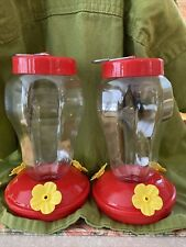 New ListingSuper Buy! 2-Pack 16 oz Bright Red Hummingbird Feeder, Charming, Free Shipping!