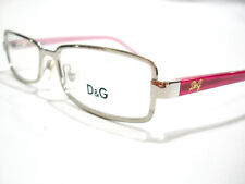 New Dolce and Gabbana Eyeglasses D&G 5042 Silver 101  Authentic 51-16-135