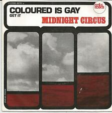 MIDNIGHT CIRCUS Coloured is gay RARE FRENCH SINGLE BACILUS 1972 KRAUT ROCK
