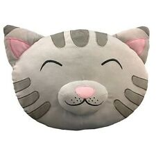 Big Bang Theory Soft Kitty Head Grey Plush Pillow Feature Cushion Geek Gift Idea