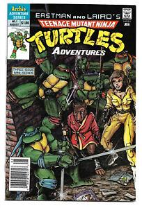 TNMNT Adventures #1 & 2 (Mini-Series) and #1 Regular (Archie 1988 &1989)