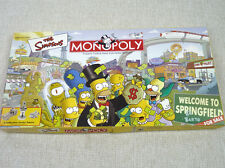 The Simpsons Monopoly SEALED Contents New 100% Complete Open Box 2001