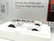 CMC 1/18 - Mercedes W165 1939 Sieger von Tripolis