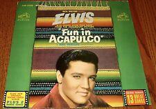 ELVIS PRESLEY FUN IN ACAPULCO Original Orange Label LP