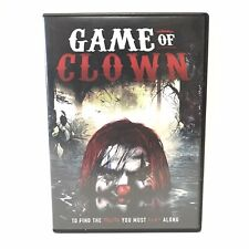 Game Of Clown Dvd Movie Extremely Rare OOP Horror 2017 Stryke Force Film Scary