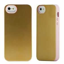 Cover e custodie brillante Per iPhone 5 in oro per cellulari e palmari