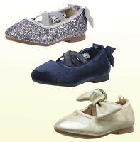 Girls Shoes Oshkosh B'gosh Toddler / Kid Girls Gold  Silver Blue Ballet Flat New
