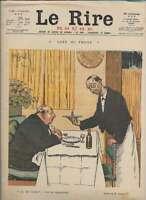 Journal Le RIRE Rouge, édition de guerre N° 82 du 10 juin 1916