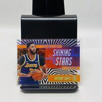 2019-20 Illusions Lakers Anthony Davis Shining Stars Acetate Orange