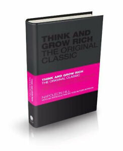 NEW Think and Grow Rich By Napoleon Hill Hardcover Free Shipping