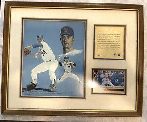 1993 Nolan Ryan No Hitter Memorabilia, Fireball Express, Framed, Baseball Gift