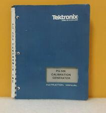 Tektronix 070 1740 00 Pg 506 Calibration Generator Instruction Manual