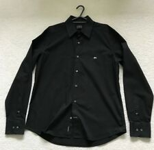 Lacoste Black Logo Long Sleeve  Shirt Size 42""