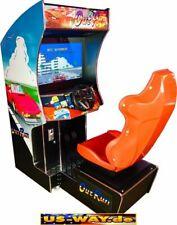 Crg-1 Clásico Arcade de Carreras Tv Vídeo Máquina Tragaperras Pie Fahrsimulator