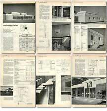 1961 Magistrates Court House At Harlow Design, Plans