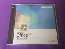 MICROSOFT OFFICE XP STANDARD UPGRADE WORD EXCEL GENUINE UPGRADE WITH KEY