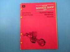 John Deere Operators Manual Om-B25516 51 Unit Planter Issue E0 M5124