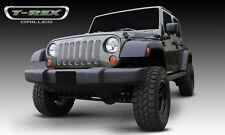 T-REX Billet Series Grille 7 Piece 2007-2016 Jeep Wrangler JK JKU 30481 Polished