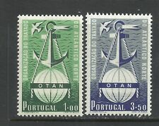Portugal 1952 - 3 Years NATO set - 1$00 MH, 3$50 MNH