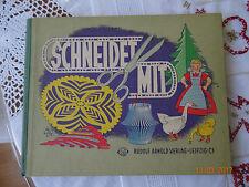 Schneidet mit-DDR Bastelbuch Rudolf Arnold Verlag