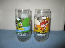 Vtg McDonalds Camp Snoopy glasses 1968 Charlie Brown-Working/1971 Snoopy-Civil..