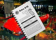 ASTRA MODEL A-75 Semi Automatic Pistol 9mm 40SW 45acp Gun Owners Manual A75