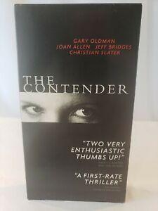 The Contender VHS Gary Oldman, Joan Allen, Jeff Bridges Christian Slater - Free