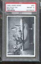 1965 GLIDROSE JAMES BOND #42 007 PUTS THE HEAT ON PSA 8 E018502