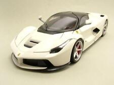 Ferrari Laferrari 2013 Blanco, Coche Modelo 1:18 / Mattel - Hot Wheels