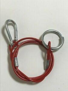 Caravan / Motorhome  W4 Breakaway Safety Cable & Split Ring - 10017