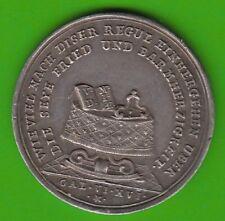 WunderschöNen Nsw-leipzig Bayern Große Silbermedaille 1715 Wiedererlangung Kurwürde Selten Münzen